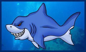 Dibujo tiburon