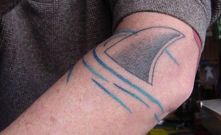tatuaje de tiburon