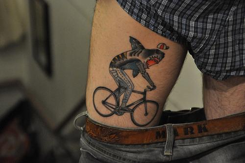 tatuaje tiburon